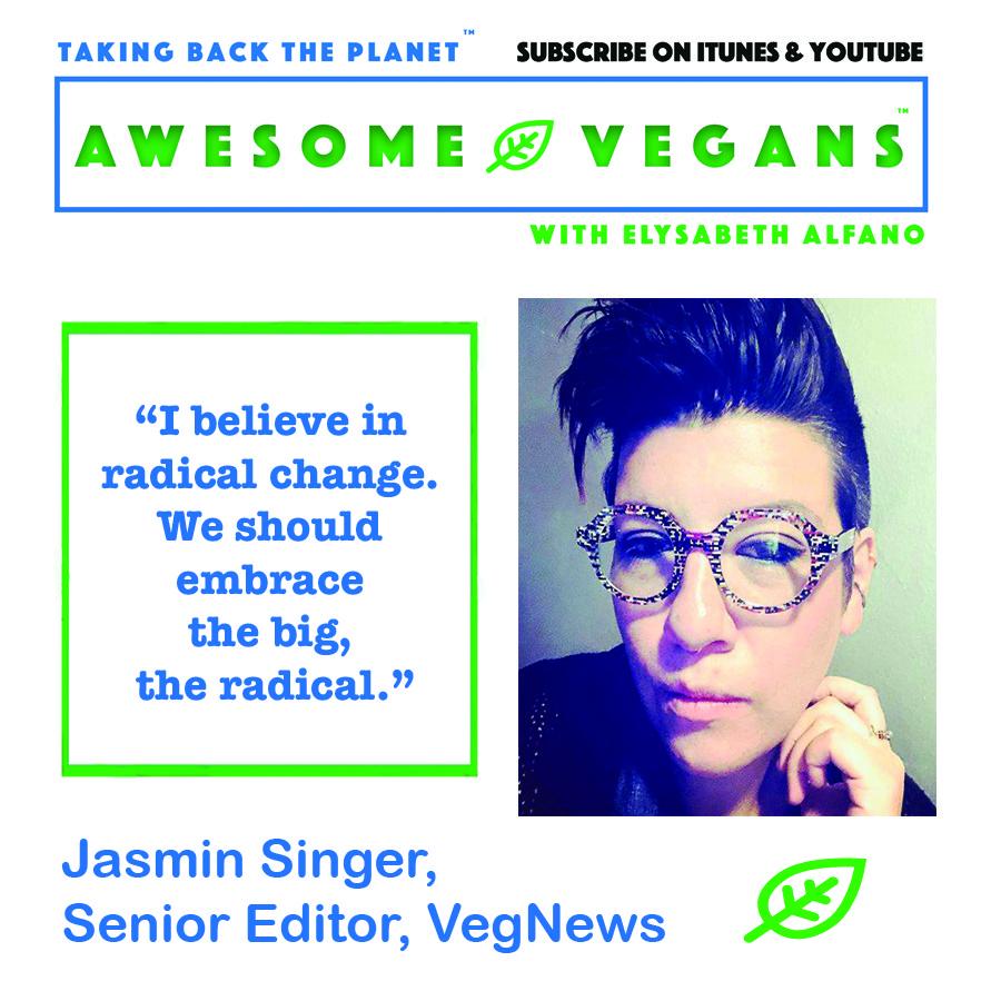 Awesome Vegans with Elysabeth Alfano