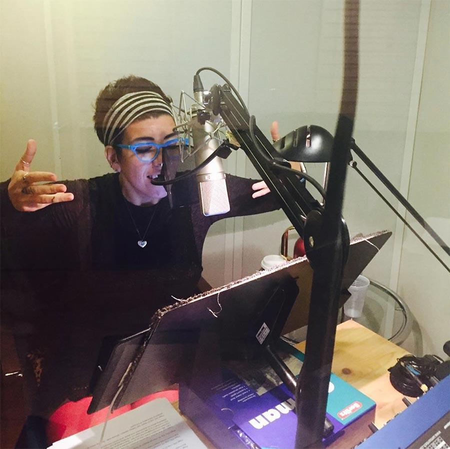 Jasmin Singer Podcasting